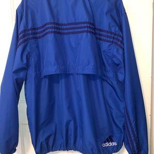 Vintage Adidas Pullover Windbreaker Jacket Size M